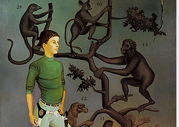 Ricco (eigtl. Erich Wassmer) Der Gieu u d'Iffle, 1966 Öl auf Leinwand 162.0 x 130.0 cm Kunstmuseum Bern, Dauerleihgabe Ruedi Wassmer, Zürich -