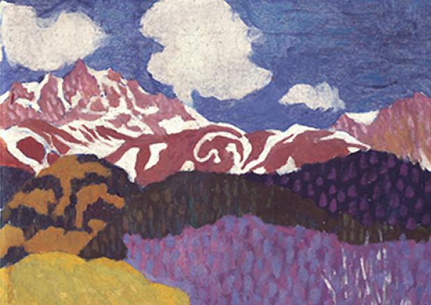 Giovanni Giacometti Couleurs En Lumiere Musee Des Beaux Arts De Berne